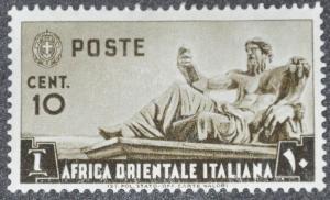 DYNAMITE Stamps: Italian East Africa Scott #4 - MINT hr
