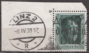 Germany; 1937: Sc. # B102a: O/Used Single Stamp