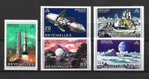 Seychelles MNH 252-6 Apollo Space