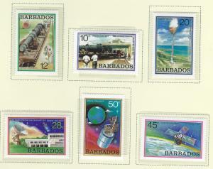 BARBADOS SC # 512 - 7   MNH