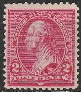 US #267 F-VF Unused  CV $5.50 (A1021)