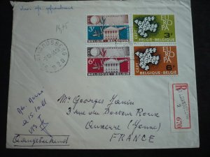 Europa 1961 - Belgium - International to France