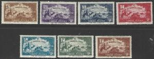 Tunisia #B47-B53 MNH Full Set of 7 cv $12.60