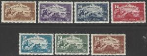 Tunisia #B47-B53 MNH Full Set of 7 cv $12.60