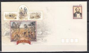Australia, 1983 issue. Discovery of Gold, Postal Envelope.