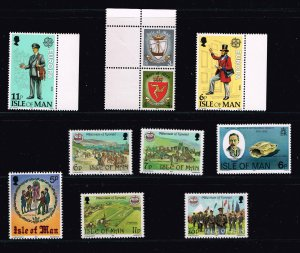 UK STAMP Isle of Man Stamp MNH Stamp COLLECTION LOT #F1