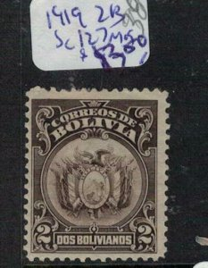 Bolivia 1919 2b SC 127 MOG (7eky)