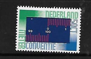 NETHERLANDS, 531, MNH, SYMBOLIC METRIC SCALE