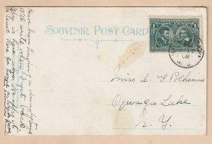#97 Canada Postcard CDS 1908 cancel, Nova Scotia