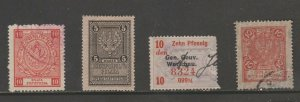 Poland tax revenue fiscal collection stamp ml396