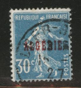 ALGERIA Scott 16 used stamp from 1924-1926