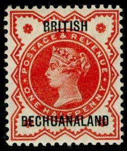 BECHUANALAND SG9, ½d vermilion, NH MINT.