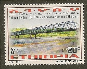 Ethiopia   Scott  1756   Bridge       Used