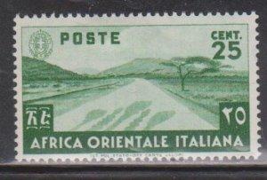 ITALIAN EAST AFRICA Scott # 7 MH
