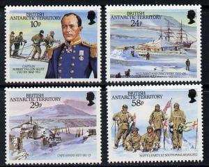 British Antarctic Territory 1987 75th Anniversary of Arri...