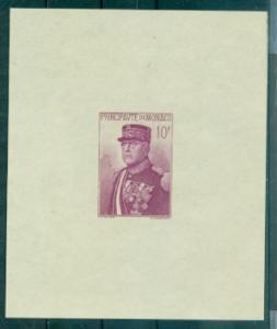 Monaco #159  MNH  Scott $175.00   Souvenir Sheet