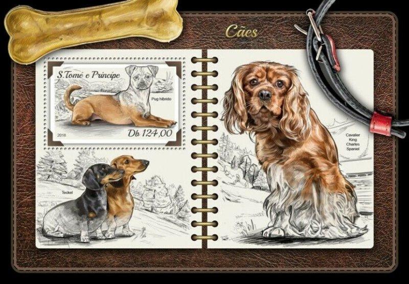 HERRICKSTAMP NEW ISSUES ST. THOMAS Dogs S/S