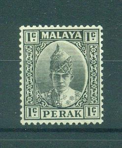 Malaya - Perak sc# 84 mh cat value $7.00