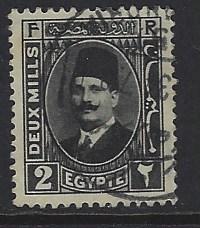 Egypt 129 used wm 195 (DT)