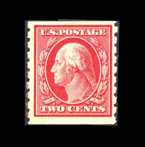 U.S. Stamps  Coil Perf  8½  MH 1910 CV $45.00