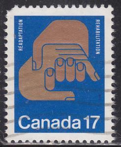 Canada 856 USED 1980 Rehabilitation World Congress 17¢