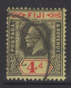 FIJI SG235 1924 4d BLACK & RED/YELLOW USED