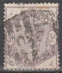 Great Britain #102 F-VF Used  CV $100.00 (S6249)
