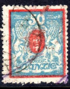 Danzig #106, postally used