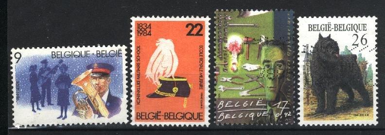 Belgium #1173,1246,1329,+1   Used  PD