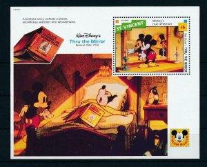 [23285] St. Vincent 1992 Disney Movie Thru the mirror MNH