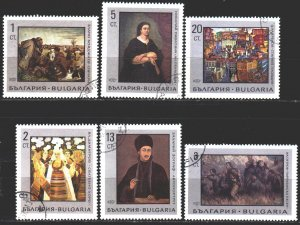 Bulgaria. 1967. 1771-76. Painting. USED.