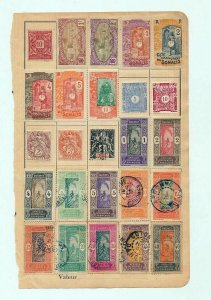 French Colonies Early M&U Mixture(Appx 140 Items) (As 668