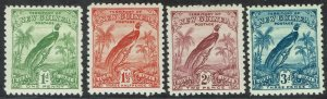 NEW GUINEA 1931 DATED BIRD 1D - 3D