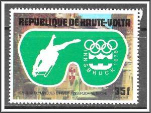 Upper Volta #384 Winter Olympics CTO