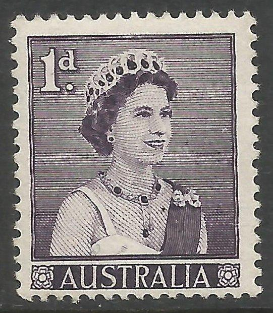 AUSTRALIA 314 MNH PENCIL ON BACK QEII I183-6