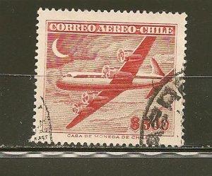 Chile C180 Airmail Douglas DC-6 Used