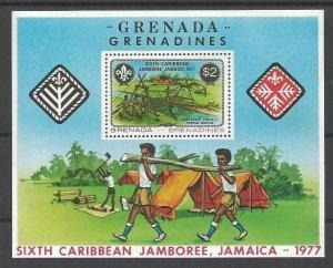 1977 Grenada Grenadines SS Boy Scout 6th Caribbean Jamboree