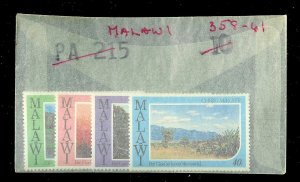 MALAWI Sc#358-361 Complete Mint Never Hinged Set