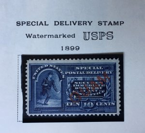 Guam MH E1. NICE issue.  CV $150.