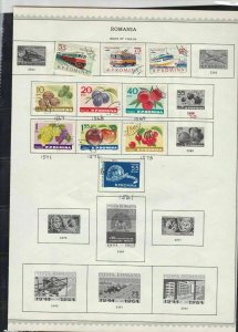 romania issues of 1963-64 stamps page ref 18280