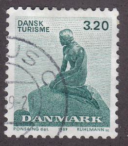 Denmark 865 Used 1989 The Little Mermaid