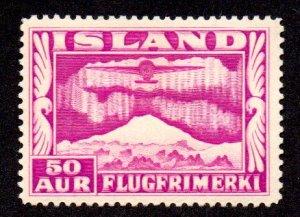ICELAND C18 MH SCV $3.50 BIN $1.75 AIRPLANE