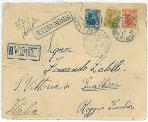 ARGENTINA - POSTAL HISTORY: COVER to ITALY 1929