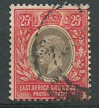 East Africa & Uganda SG 50a Fine Used  white paper