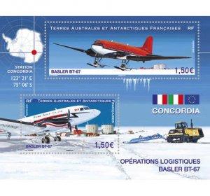 2021 FSAT Basler BT-67 Aircraft in Concordia SS (Scott NA) MNH