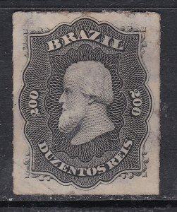 BRAZIL ^^^^^1878  RARER  sc#73 mint hinged    CLASSIC $$@ cam3221braz