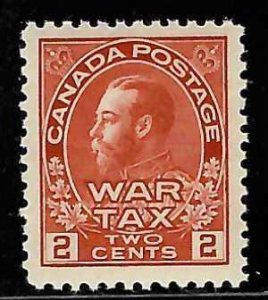 Canada #MR2 XF Mint NH with perfect centering