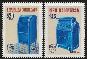 DOMINICAN REPUBLIC 1524-25 MNH I880-8