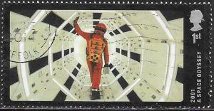 Great Britain 3290 Used - Scenes from British Films - 2001 A Space Odyssey