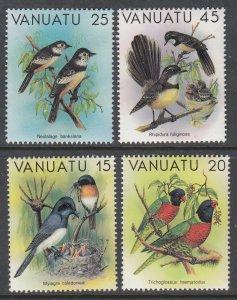 Vanuatu 319-322 Birds MNH VF